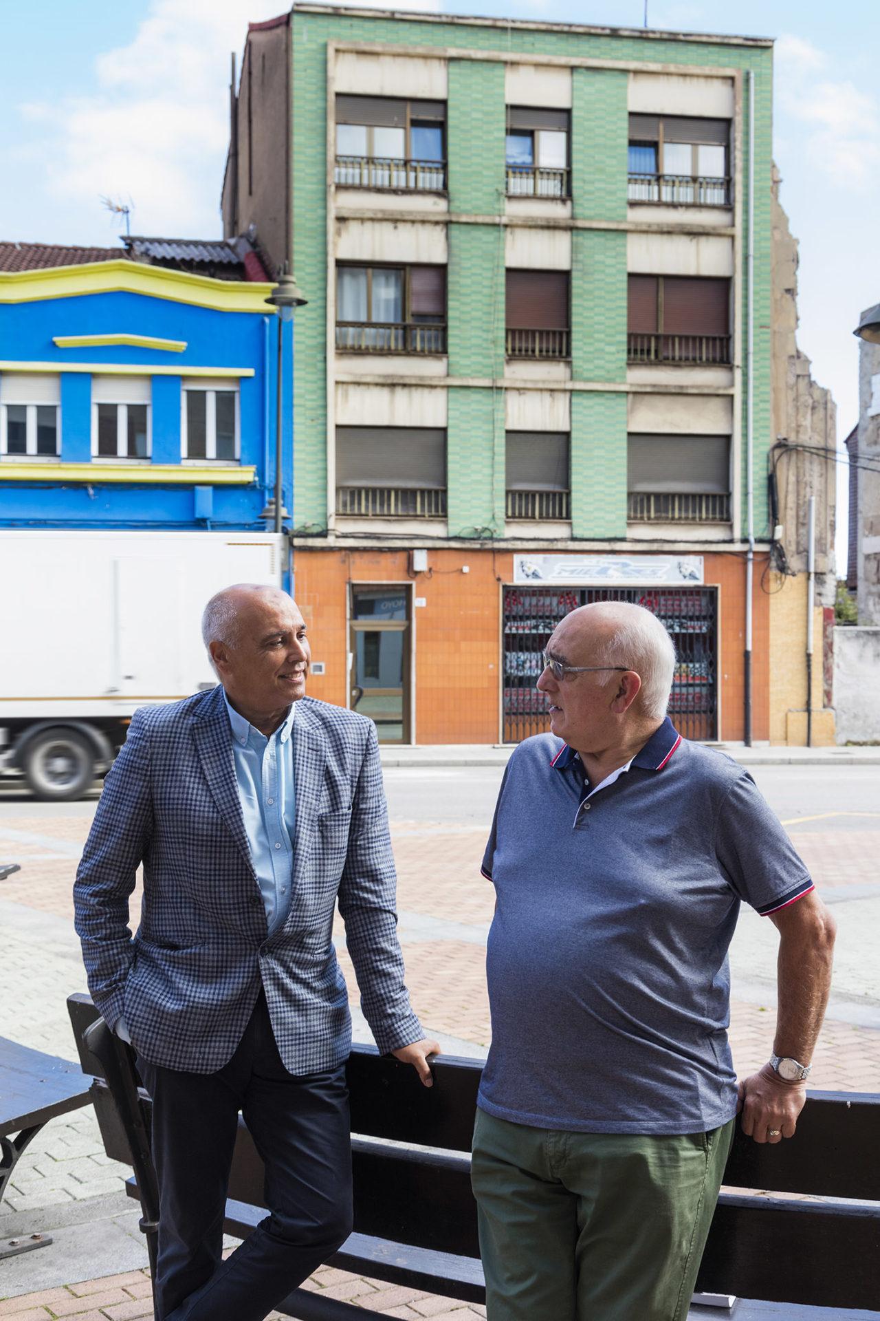 José Agustín Palacio y Juan Carlos El Natahoyo