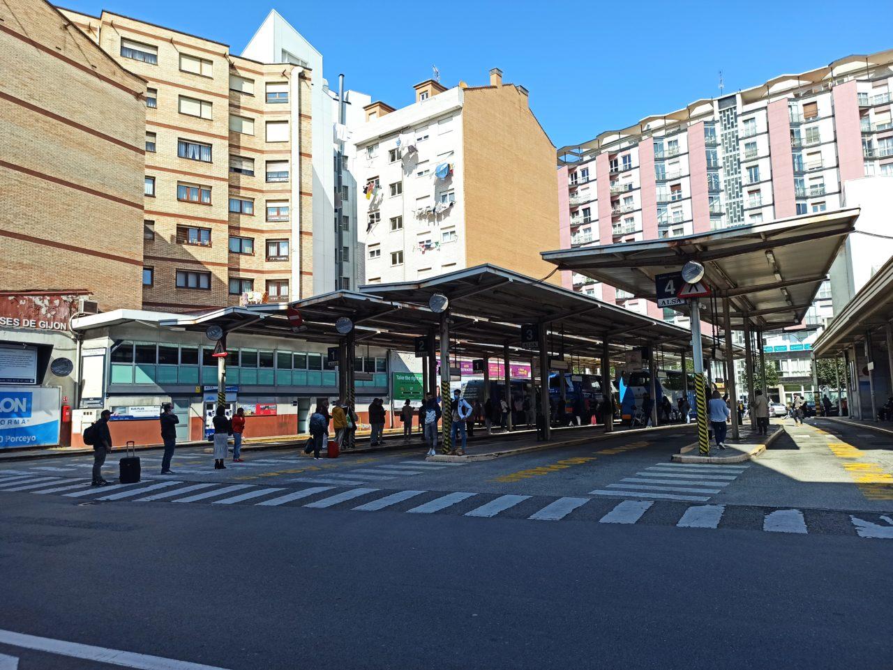 estación de autobuses de gijón