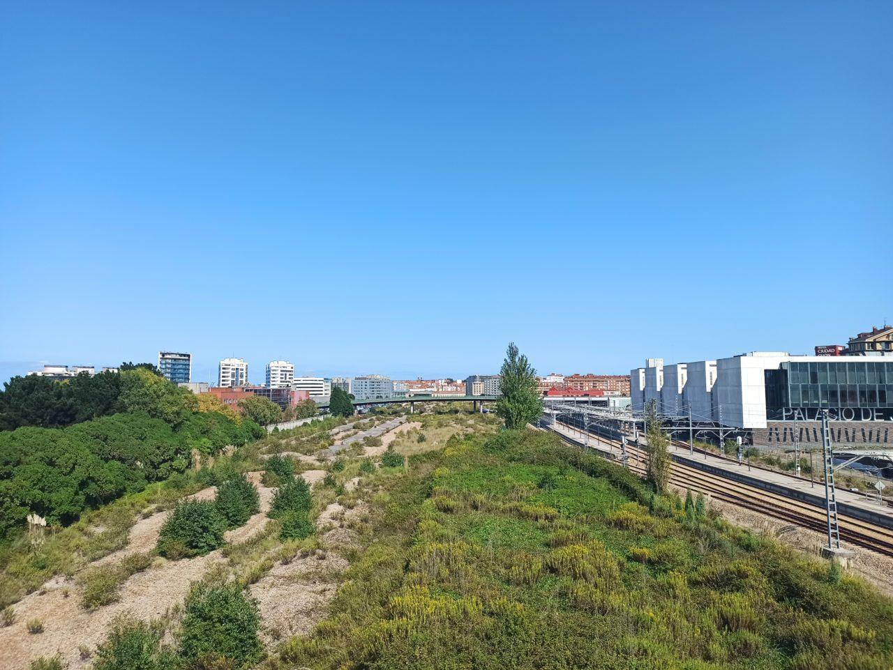 Posible futura ubicación de la estación en Moreda (David Pérez)