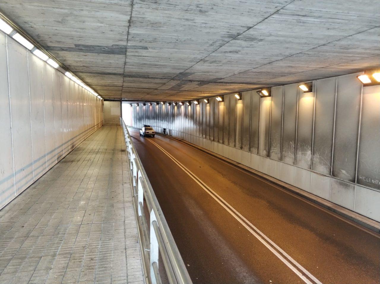 tunel la calzada