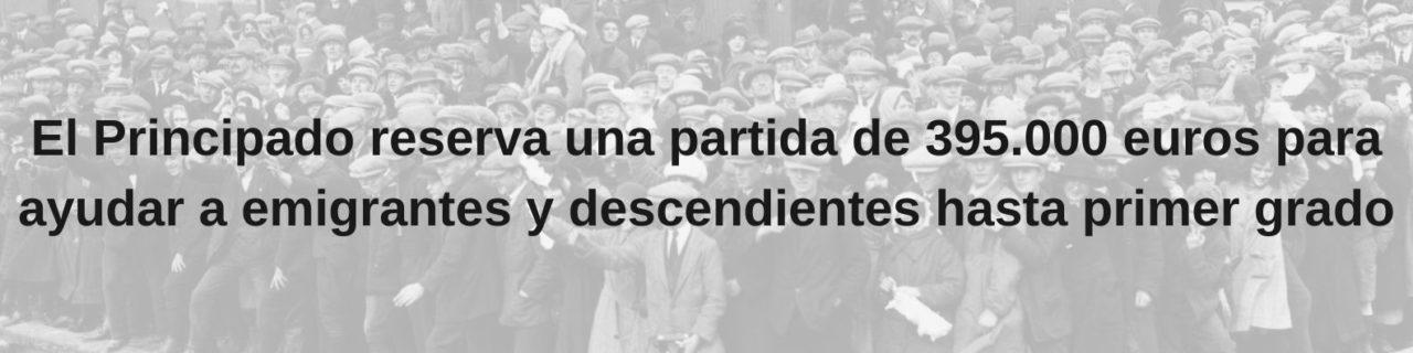 ayudas emigrantes asturianos
